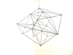 Geometric wire sculpture examples2