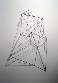 Geometric wire sculpture examples3