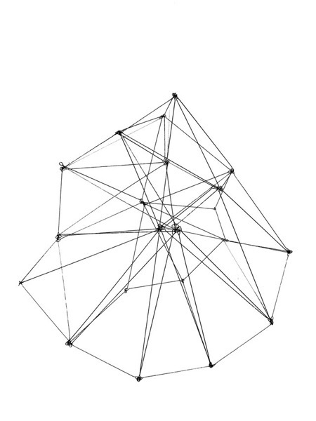 Geometric wire sculpture examples4