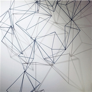 Geometric wire sculpture examples7