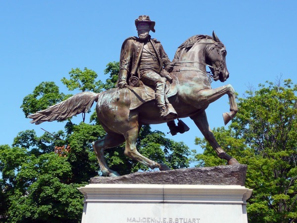 Monument Ave Jeb Stuart