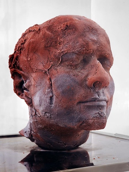 Marc quinn portrait in blood